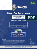 Addo Direct Dealer FOC- North & East 1-4-21 to 30-4-21