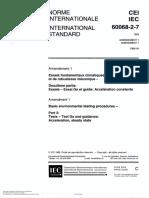 IEC 60068-2-7