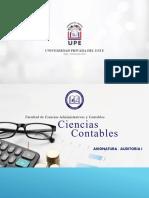 Auditoria I Clase 1 05-04-2021 Introducción a Auditoria