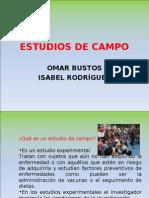 ESTUDIOS DE CAMPO