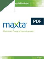 Maxta Technical White Paper