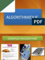 Algorithmique Notions de Bases