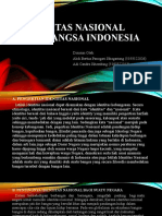Identitas Nasional Bangsa Indonesia Kel-8