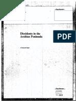 DISSIDENTS IN THE ARABIAN PENINSULA