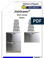 Fisher Paykel Parts Manual dd603