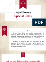 Legal Forms - Assignment 1