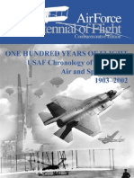 One Hundred Years of Flight USAF Chronology of Significant Air and Space Events 1903-2002