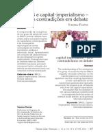FONTES, Virgínia. BRICS e capital-imperialismo – novas contradições em debate