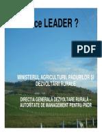De ce LEADER
