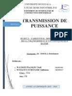 Transmission WATSOP WOUKOUO Sujet 2