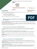 Mécanique, carroserie automobile _ Installation Classées pour la Protection de l'Environnement (ICPE)
