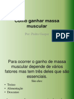 Como Ganhar Massa Muscular 2.0