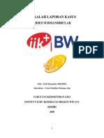 MAKALAH LAPORAN KASUS ABSES SUBMANDIBULAR - FARLI ROMANTIO (40618092)