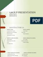 Group Presentation 2020