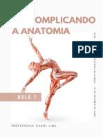 Apostila Anatomia da Dança - Aula 1 - Descomplicando a anatomia