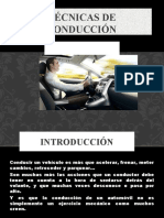 Tecnicas de Conduccion