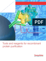 Tools Reagents Recombinant Protein Purification Brochure