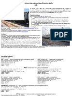 Voiture UIC Union International de Chemin de fer