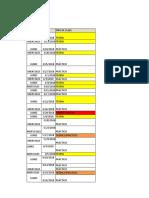 Cronograma de Clases Planilla General