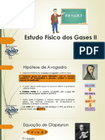 Estudo Físico Dos Gases II