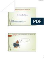 Cours Formation Gestion Projet