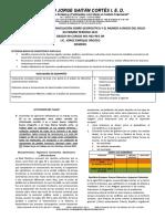 TALLER No. 1 DE REFUERZO-NIVELACIÓN CIENCIAS SOCIALES GRADO 9 PRIMER PERIODO 2021