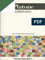 Platone, A Cura Di Giorgio Colli - Simposio-Adelphi (1993)