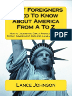 What foreigners need to know about america