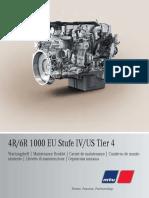 Maintenance Booklet OM934LA 4R-6R-1000 A9345840593 multilingual