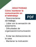 Cómo mantener la comunicación en el