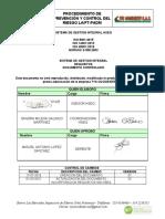 PE-PR-04 Procedimiento de prevención y control del riesgo LAFT-PADM