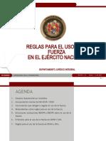 BG Ayala Uso de La Fuerza en Del D. Operacional