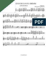 Hermanos Grimm - Alto Sax