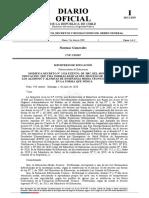 DEX Nº 546 DE 2020 MINEDUC MODIFICA DEX Nº2516 DE 2007 QUE FIJA NORMAS BASICAS DL PROCESO DE TITULACION DE ALUMNOS Y ALUMNAS DE E MEDIA TP-1