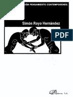 Royo Hernandez Simon - Pasajes Al Posthumanismo - Historia Y Escritura