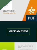 Características de La Fórmula Médica