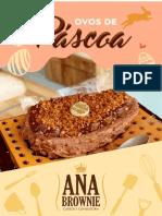 Ana Brownie Ovos de Pascoa