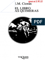 CIORAN, E. M. - El Libro de las Quimeras (OCR) [por Ganz1912]