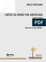 Erico Verissimo Cartas Da Uniao Pan-Americana