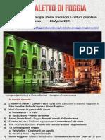 Il Dialetto Di Foggia N. 11 Del 06-04-2021
