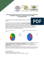 COMUNICADO DEFINITIVO DEL ESTUDIANTADO DE LA FACULTAD DE CIENCIAS (2)