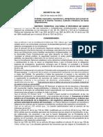 Decreto 068 Del 24 de Marzo de 2021, Santa Marta, Magdalena.