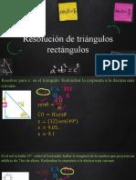 P10_Resolución de Triángulos Rectángulos
