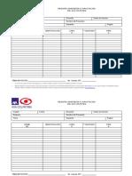 ANEXO 2.1 - Formato Registro de Asistencia a Capacitación