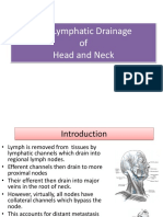 The Lymphatic Drainage of the Head Neck 2011