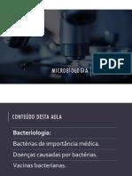 5. Doenças bacterianas e vacinas