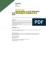 Texto 5 - Genres textuels - J. DOLZ