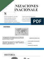 Presentacion Organizaciones Internacionales