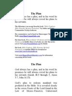 The Prophetic Plan