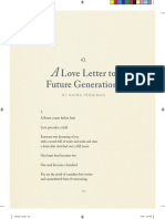 A Love Letter to Future Generations